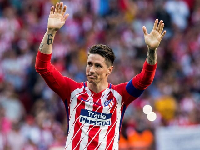Torjäger Fernando Torres verabschiedet sich in Richtung Japan
