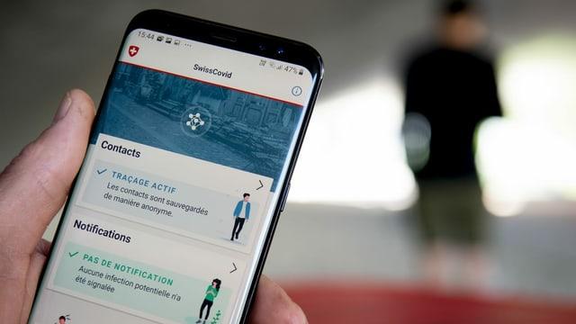SwissCovid App.