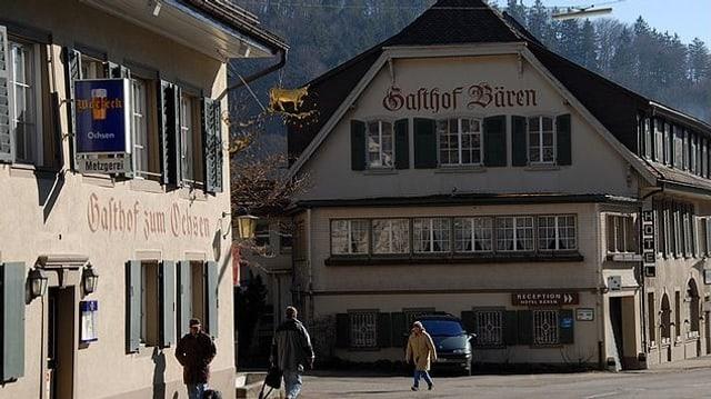 Dorfkern von Langenbruck.