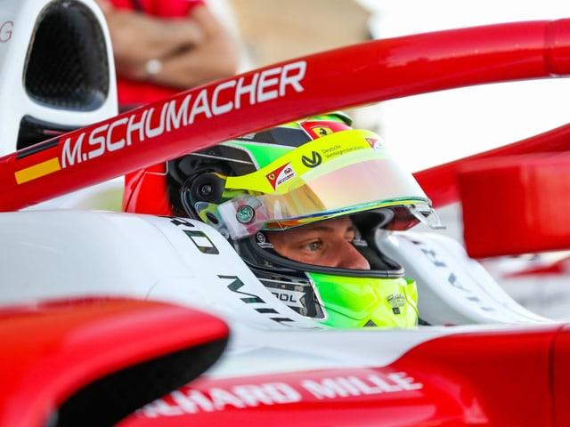 Mick Schumacher, Sohn von Michael Schumacher.