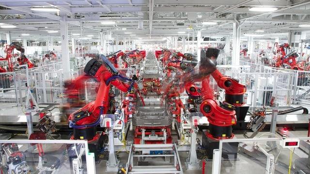 Tesla-Fabrik.