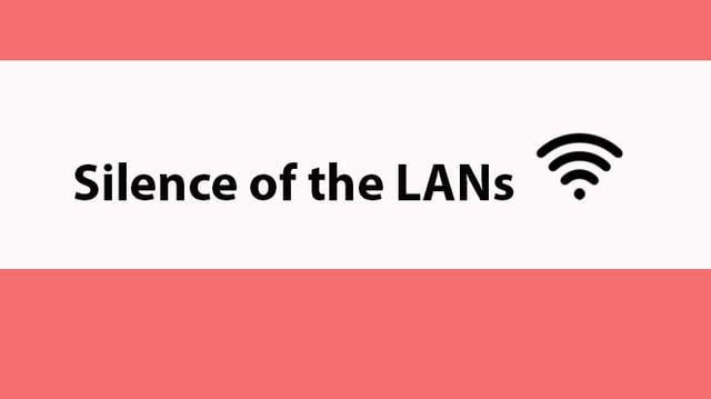 WLAN-Name: Silence of the LANs