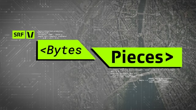 Bytes/Pieces Webvisual