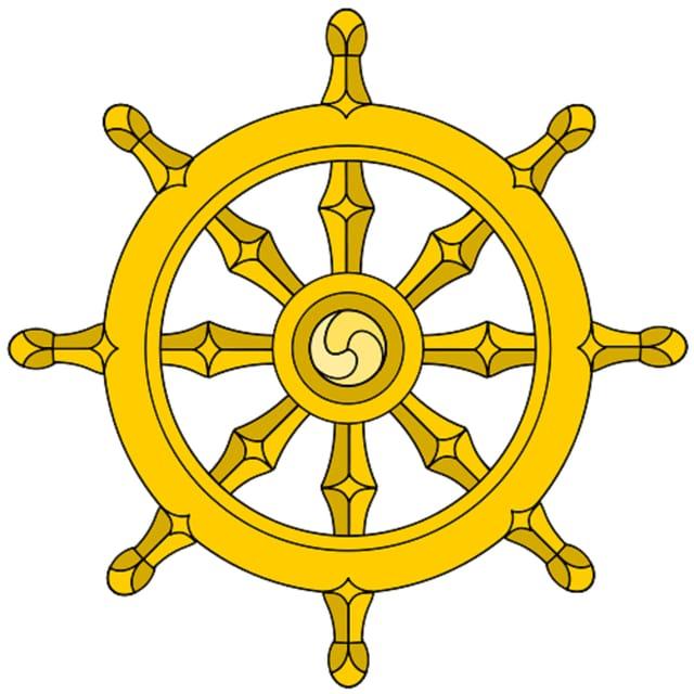 Dharmachakra, la roda da la ductrina