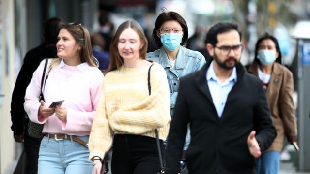Menschen in Auckland