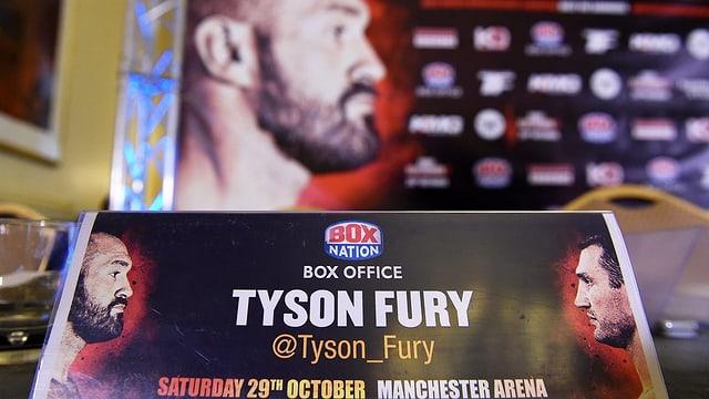 Il boxist Tyson Fury sin in placat ensemen cun Wladimir Klitschko.
