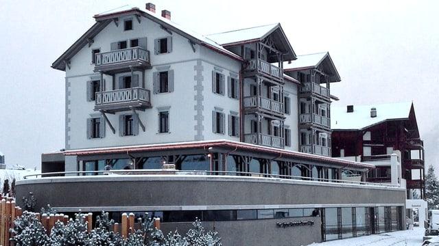 L'hotel Alpina a Tschiertschen è actualmain cuntents cun la stagiun d'enviern.