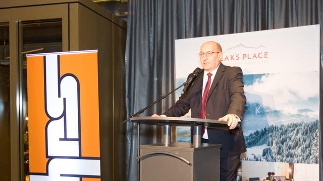 Martin Kull, il president e possessur da HRS Real Estate SA.