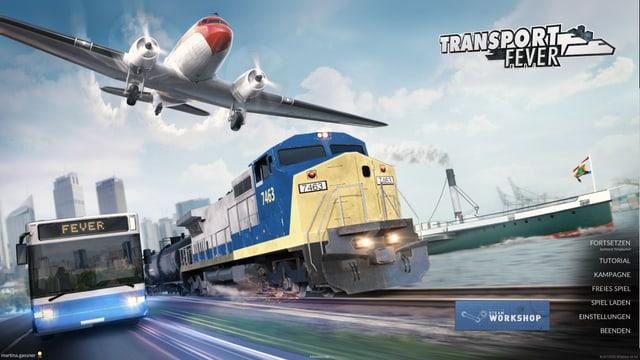 Strassen-, Schienen-, Luft- und Wasserverkehr ist unsere Business in Transport Fever und das gleich durch mehrere Jahrhunderte.