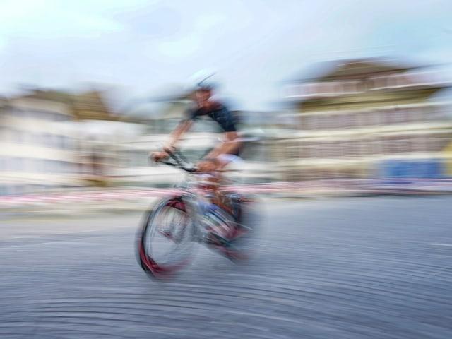 Fahrradfahrer in Zofingen
