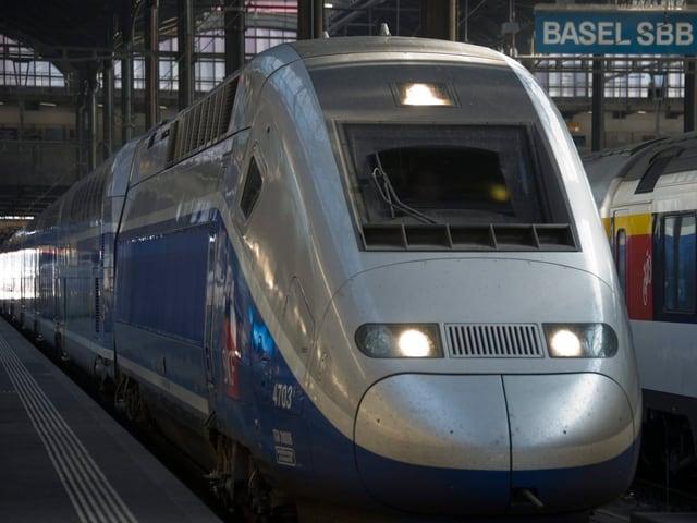 Der TGV Duplex.