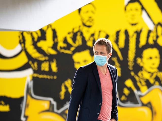 YB-Sportchef Christoph Spycher, liebevoll «Wuschu» genannt.