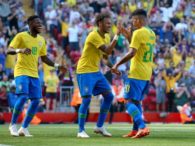 Brasilianer jubeln