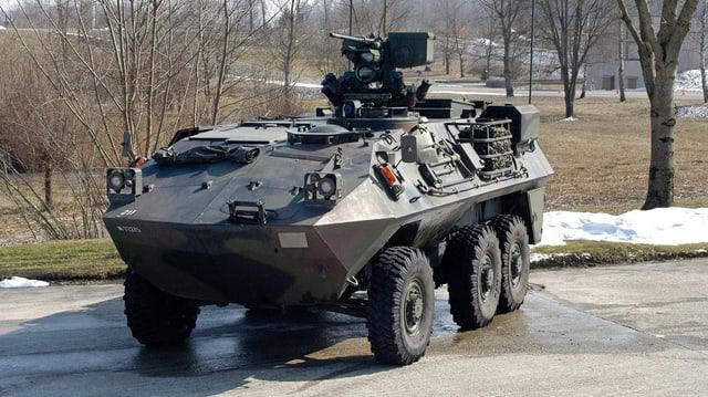 Radschützen-Panzer Piranha