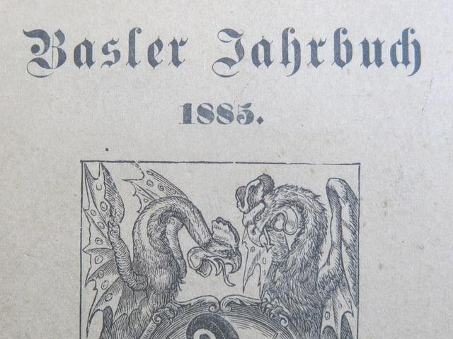 Buchdeckel von 1885