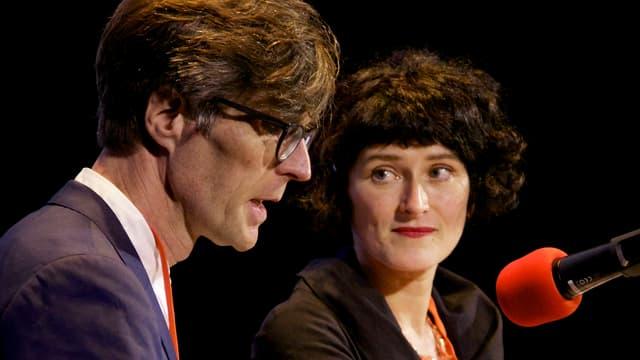 Beat Schneider und Nicole Reinhard