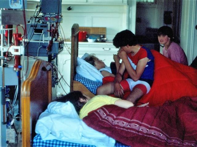 Dialyse-Lager des Kinderspitals Zürich