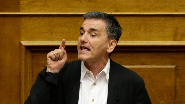 Il minister da finanzas grec Euklid Tsakalotos.
