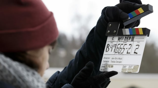 """Bei Dreharbeiten zur SRF-Serie """"Wilder"""" fällt die Klappe zur dritten Staffel."""