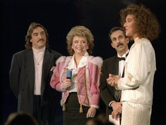 Nella Martinetti und Céline Dion
