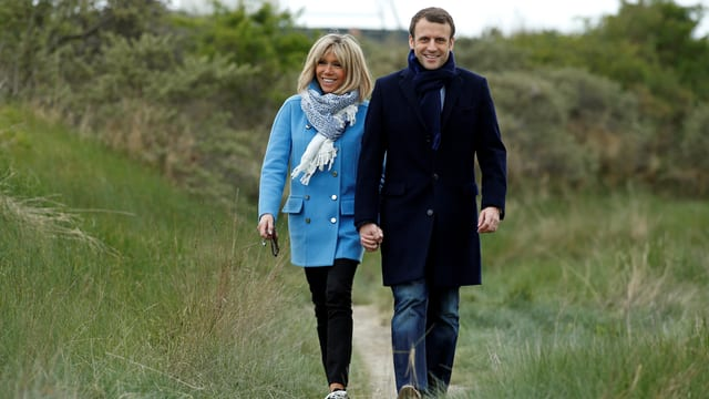 Ehepaar Macron