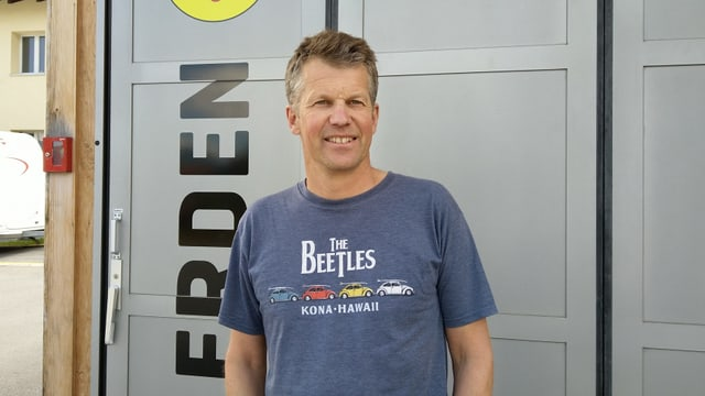 Purtret dal president Daniel Bürgi.