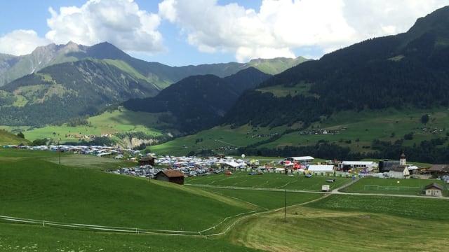 Tut è preparà per l'Open Air Lumnezia 2016.