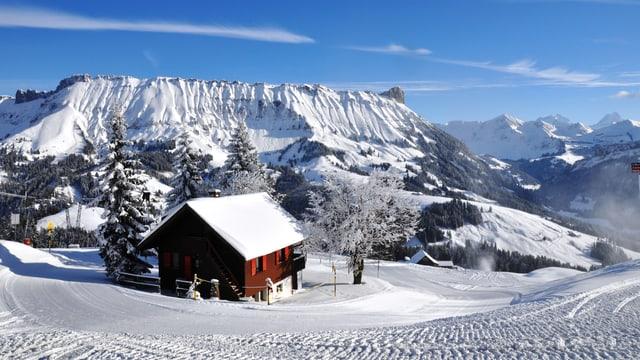 Winterlandschaft im Entlebuch.