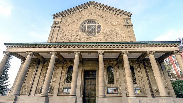 Die Liebfrauenkirche in der Stadt Zürich