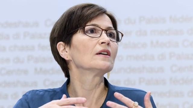 Grünen-Präsidentin Regula Rytz