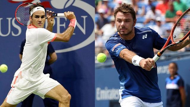 Roger Federer e Stan Wawrinka.