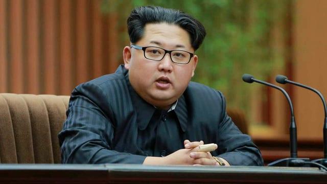 Il schef dal reschim nordcorean Kim Jong Un.