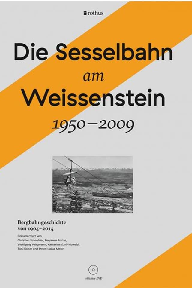 Buch-Cover mit einem gelben Strich