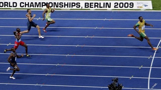 Usain Bolt liess seiner Konkurrenz in Berlin keine Chance.