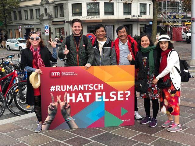 turists cun il placat da rumantsch, what else?