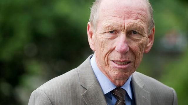 Porträtbild Heinz Locher, GEsundheitsökonom