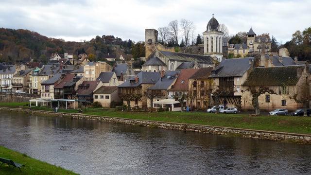 Das Städtchen Montignac, im Südwesten Frankreichs: