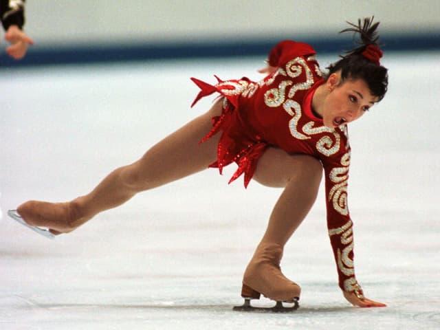 Eiskunstläuferin