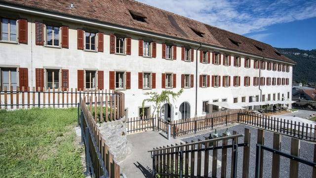 Kürzlich erföffnet: Das ehemalige Klostergebäude in Stans soll zum Zentrum für alpine Kulinarik werden.