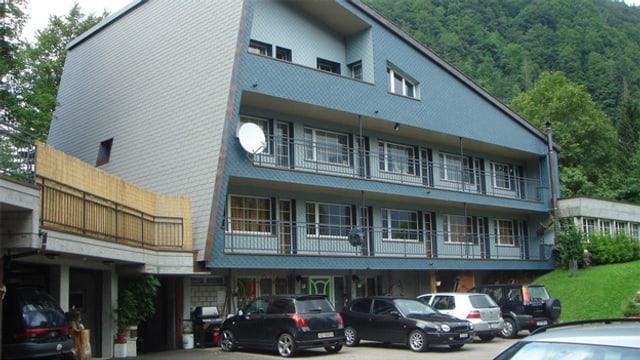Ehemalige Jugendherberge in Innerthal im Kanton Schwyz.