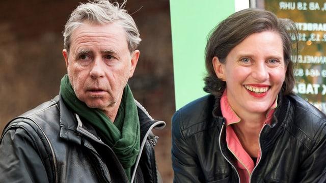 Urs Egger und Eva Schumacher