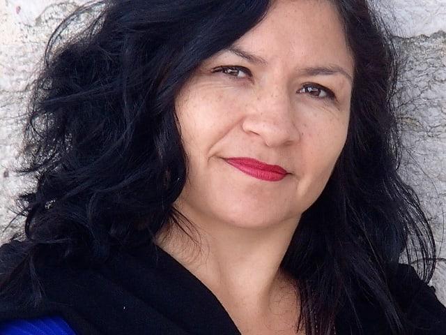 Porträt von Tania Espinoza Haller.