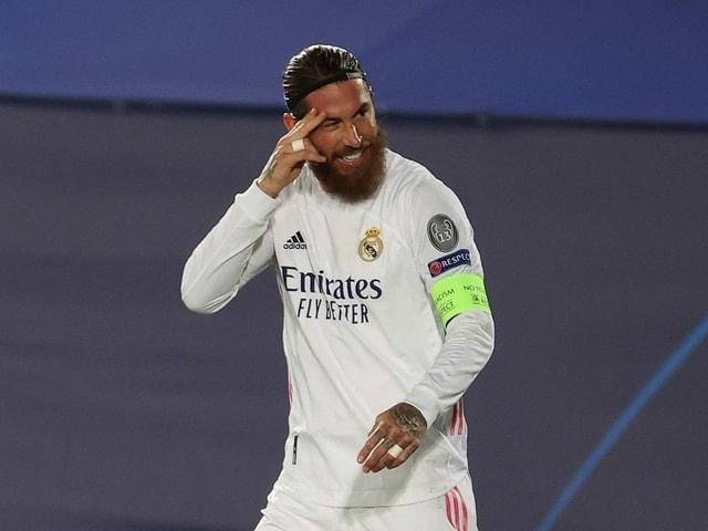 Reals Sergio Ramos.