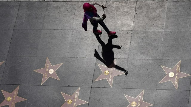 Sterne auf Walk of Fame