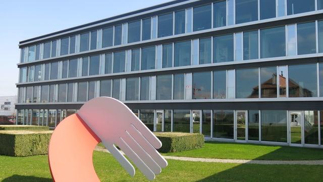 Gebäude der GVB.