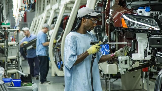 Autofabrik von Volkswagen.