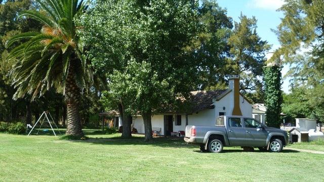Das Wohnhaus von Familie Ruch.