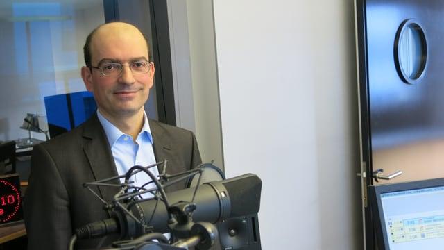 Marco Menna, Leiter des Instituts für Wirtschaftsinformatik der Hochschule Luzern.
