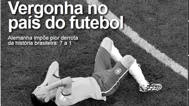 Schande im Land des Fussballs - titel O Dia