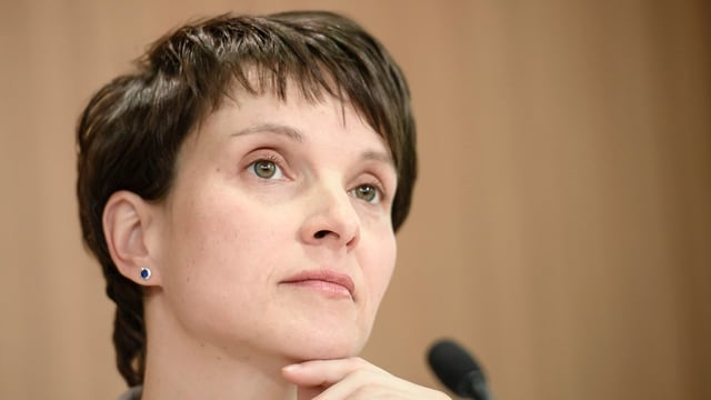 Purtret da Frauke Petry.